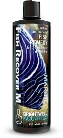 תכשיר טיפולי לאקווריום מים מלוחים FishRecover-M 250-2000ml